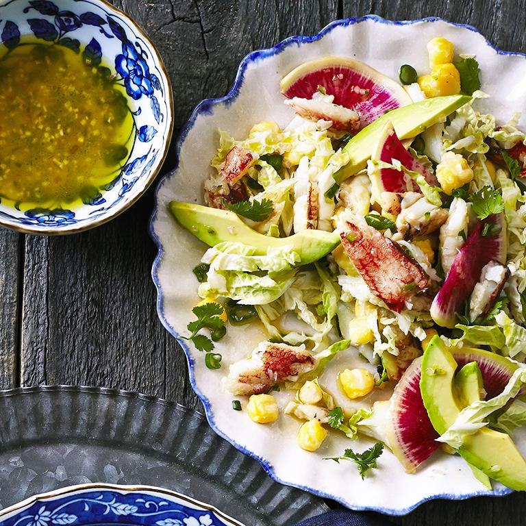 Crab Posole Salad