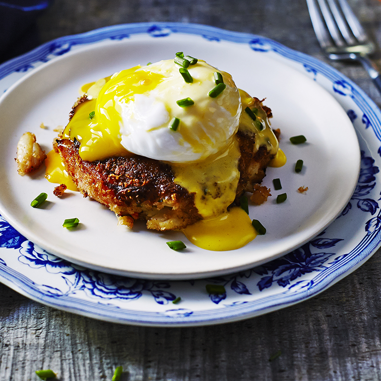 Ask Ina Garten: Crabcake Eggs Benedict Recipe