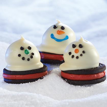 Melting Snowmen OREO Cookie Balls