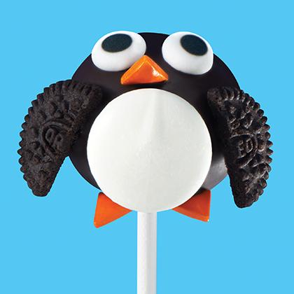 OREO Penguin Cookie Ball Pops