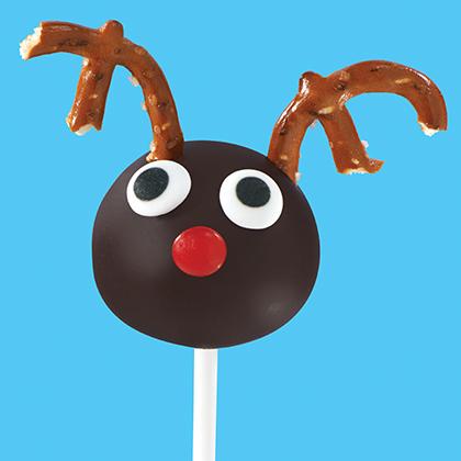 OREO Reindeer Cookie Ball Pops