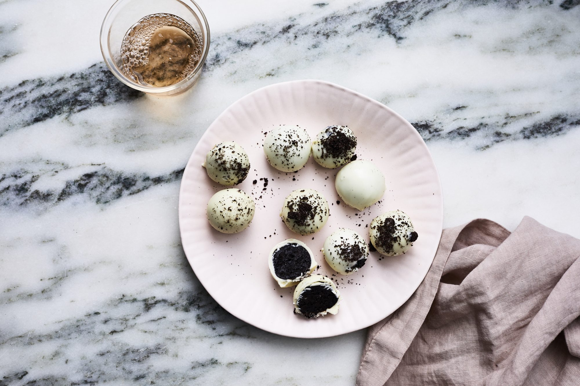 White Chocolate OREO Cookie Balls