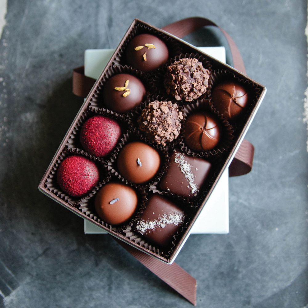 <p>French Broad Chocolates</p>
