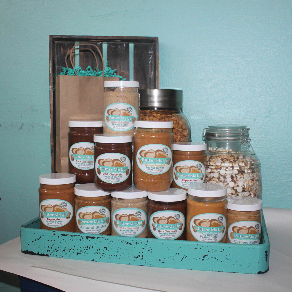 IowaNut butter fans, unite! From the heartland of Iowa comes a collection of all-naural nut butters unlike any other.  Whatever your preferences, you can find what you're looking for from Butter Me Up! Nut Butters. Our pick? The deliciously sweet and irrisistable White Chocolate Almond Butter. Just be warned, you'll want to eat it by the spoonful!
