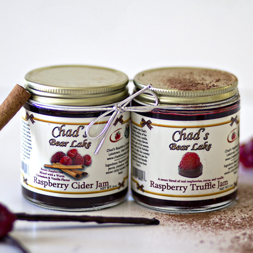 UtahBear Lake, Utah is an area that's famous for its raspberries. From jams, to syrups, to gift boxes, Chad's Raspberry Kitchen brings the country style flavor from field to kitchen in only a few hundred feet. If that wasn't sweet enough, the company also has an inspiring story. Learn more about Chad and his family here.