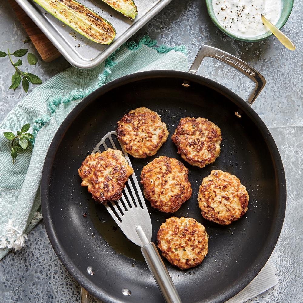 Chicken Kofte With Zucchini Recipe Myrecipes