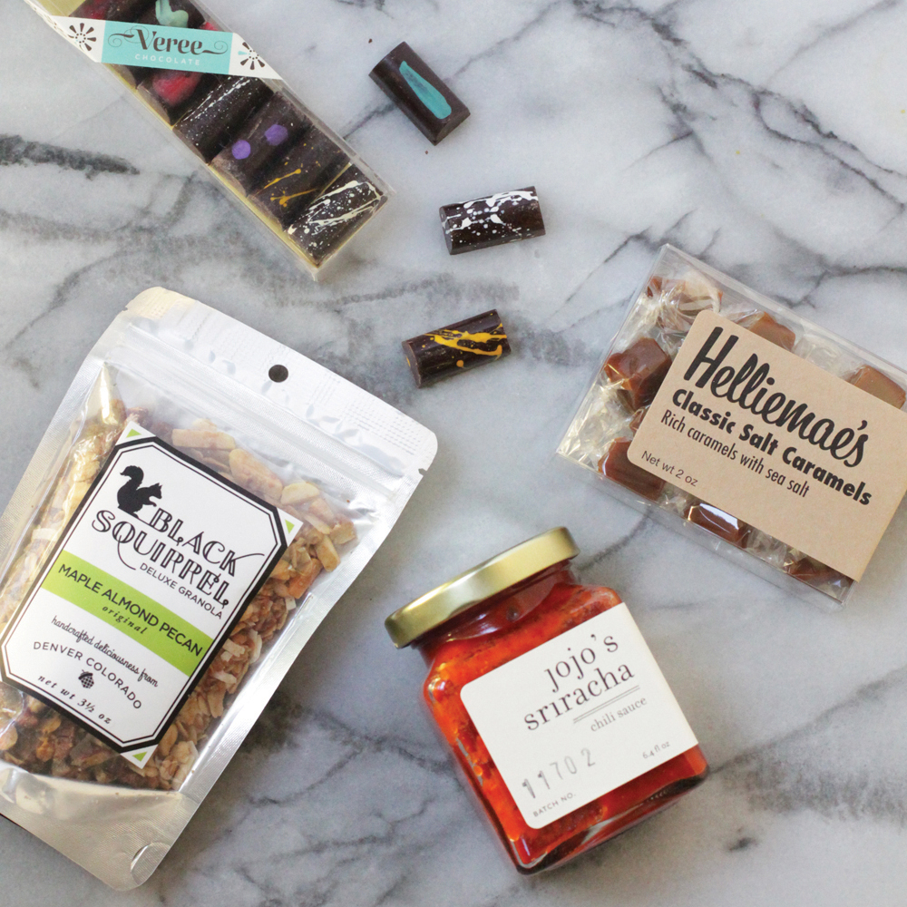ColoradoFor high elevations and snow capped mountains, look no further than the beautiful landscape of Colorado. For delicious native treats like sea salt caramels, small-batch sriracha sauce, and luscious granola, we've got our eyes on the Denver Gift Box from Colorado Crafted.
