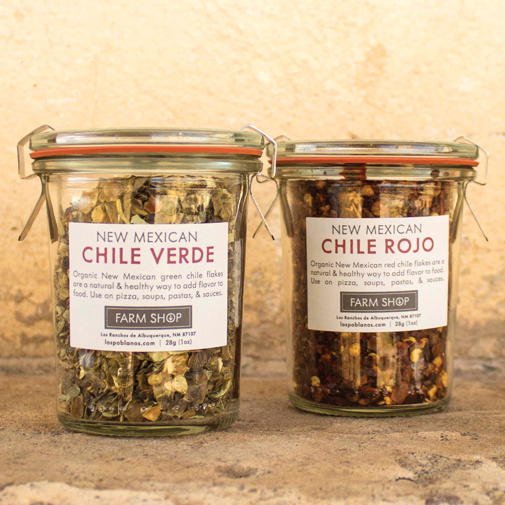 New MexicoNew Mexico is famous for its chiles. Luckily for everyone, Los Poblanos, a beautiful historic inn and organic farm, dishes out some amazing jars of chile rojo and chile verde, and with those festive colors, they're the perfect way to spice up the holidays this year.
