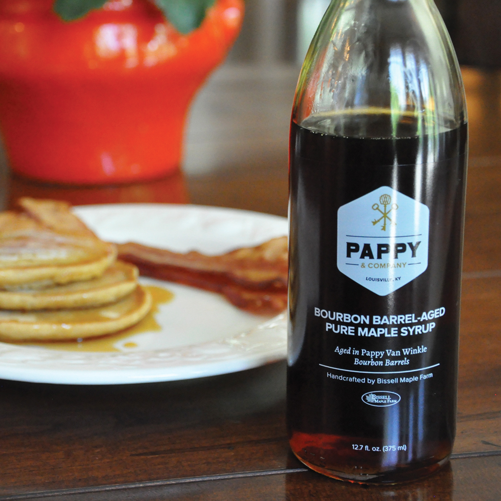 "KentuckyFamily owned for four generations, Pappy & Co. has always prided itself on making the finest bourbon, but they didn't stop there. After all, what's a good maple syrup without a little bourbon? Aged for 100 days in 23 year old bourbon barrels, this maple syrup is simply one of a kind. In their words, ""Our maple syrup is sweeter than Southern hospitality,"" and we couldn't agree more."