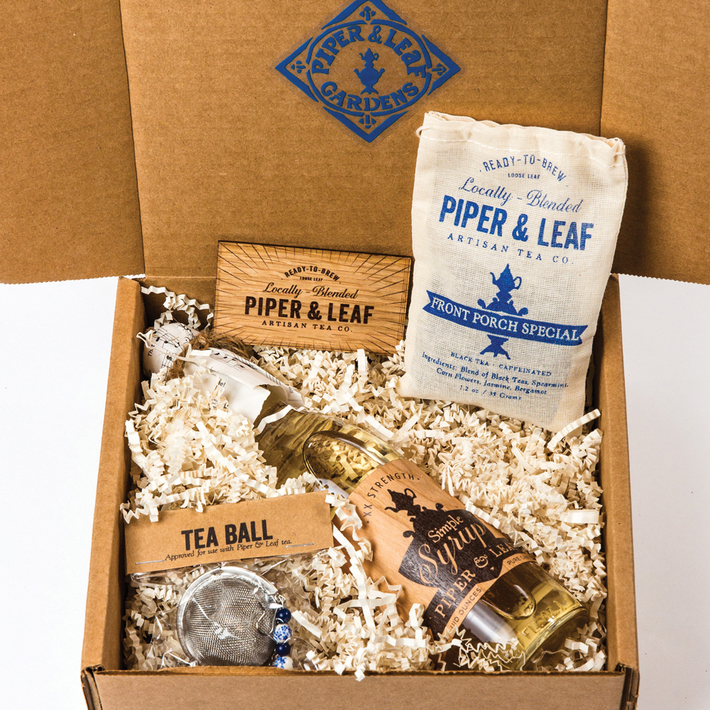 AlabamaFor any tea lovers on your shopping list, Alabama's own Piper & Leaf Artisan Tea Co. is the ultimate tea stop for unique brews and gifts like their Piper Gift Set,  which features their Front Porch Special, a black tea with jasamine, spearmint, and bergamont.