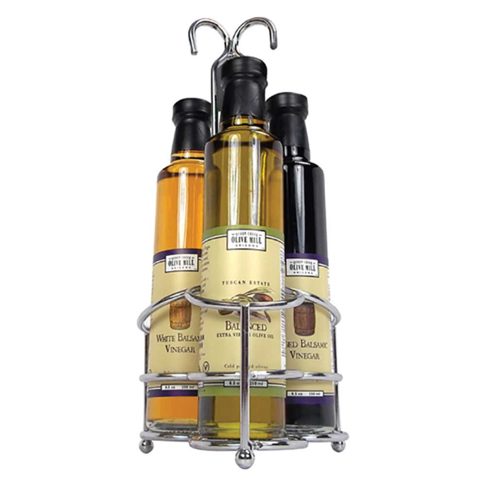ArizonaBuilt from the ground up by a family who traded chilly Detroit weather for the warm Arizona sun, the Queen Creek Olive Mill isn't just a shop, it's an agritourism destination.  For the olive oil lover in your life, we're huge fans of this oil and vinegar trio set.