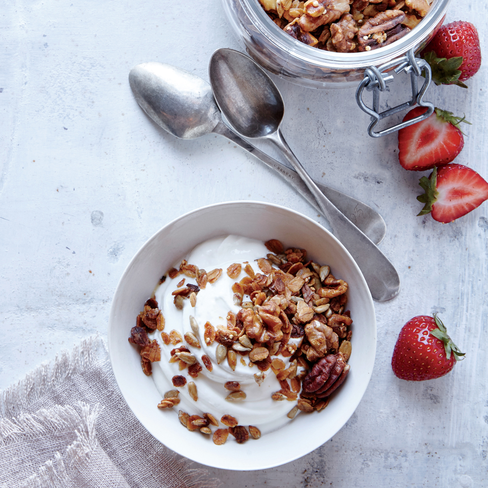 Savory Granola
