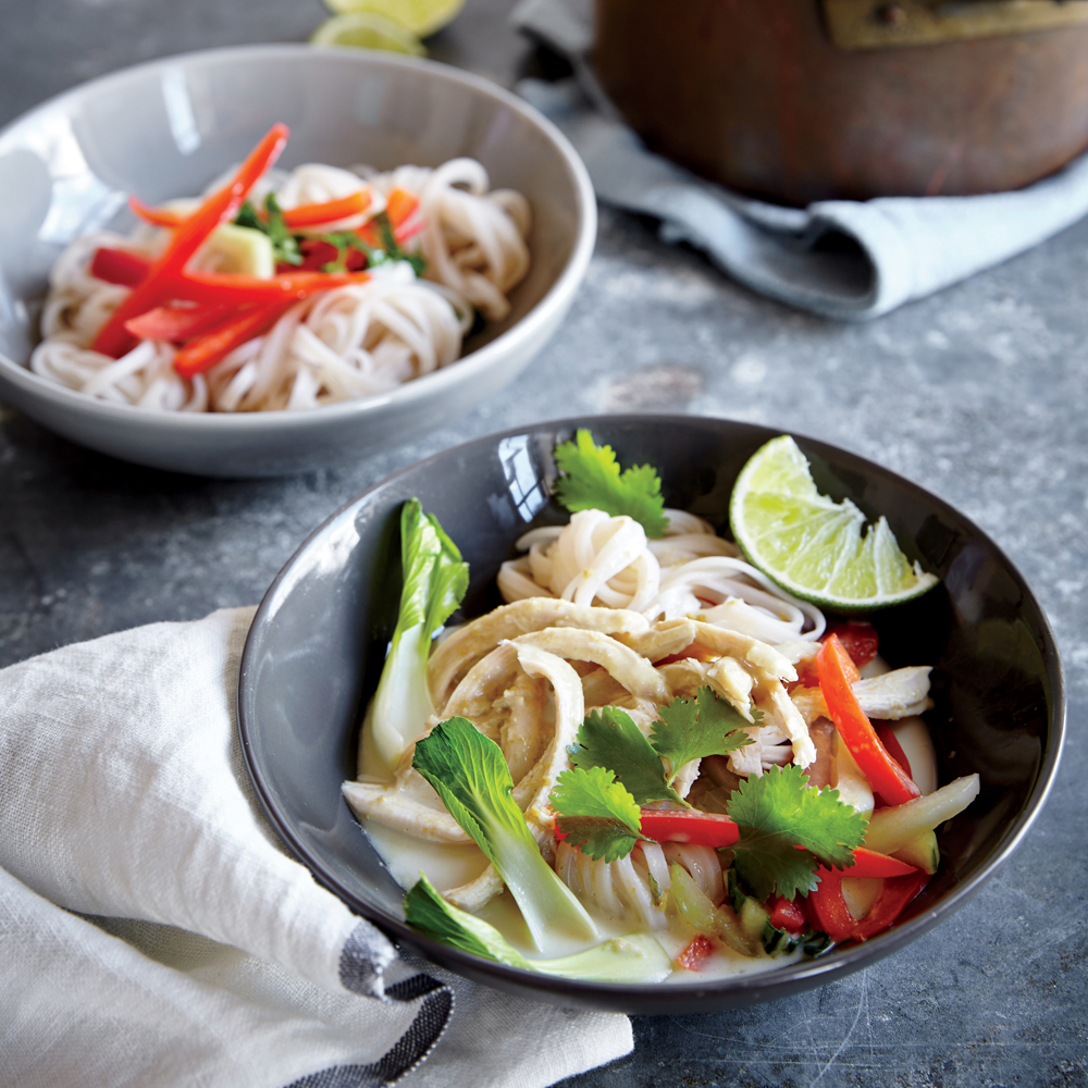 Thai green curry chicken recipe myrecipes thai green curry chicken forumfinder Choice Image