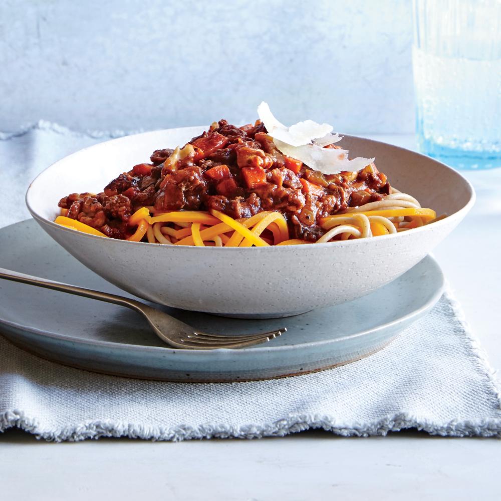 Veggie-Packed Bolognese
