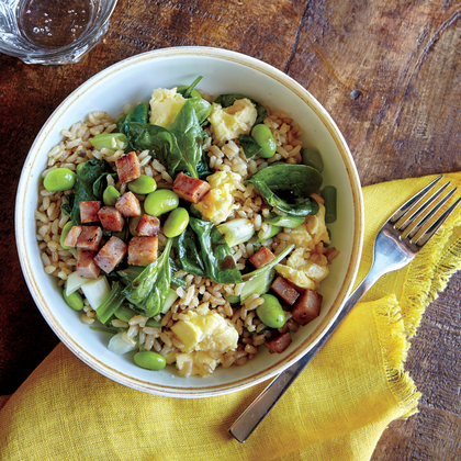 Cook With Confidence: Veggie Fried Rice with Crispy Ham