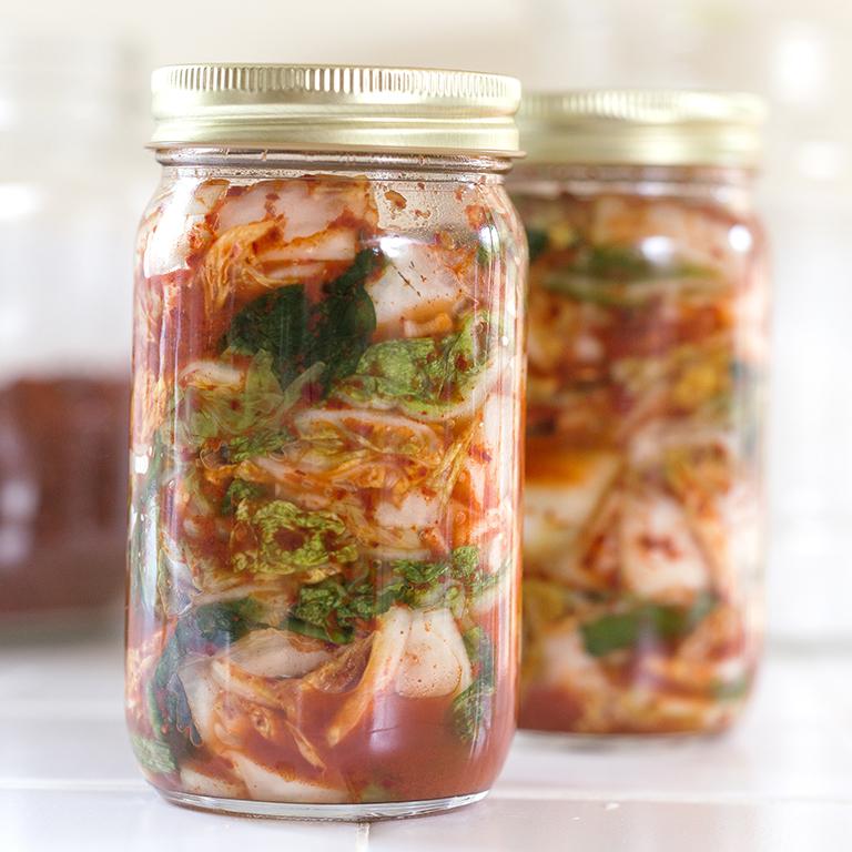 Choi's Napa Cabbage Kimchi