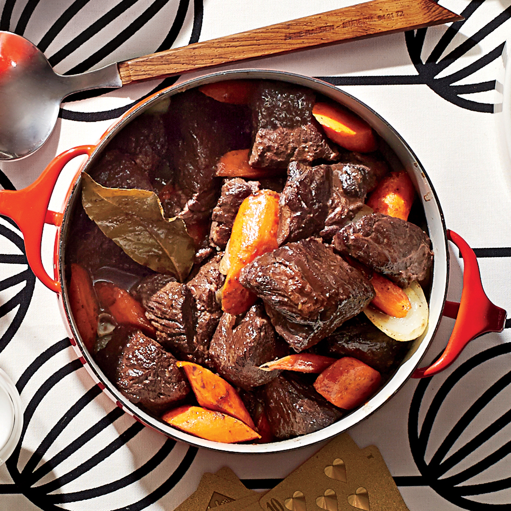 Beef Burgundy Stew
