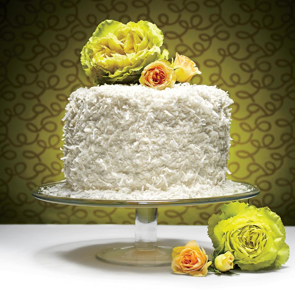 The Coconut Chiffon Cake