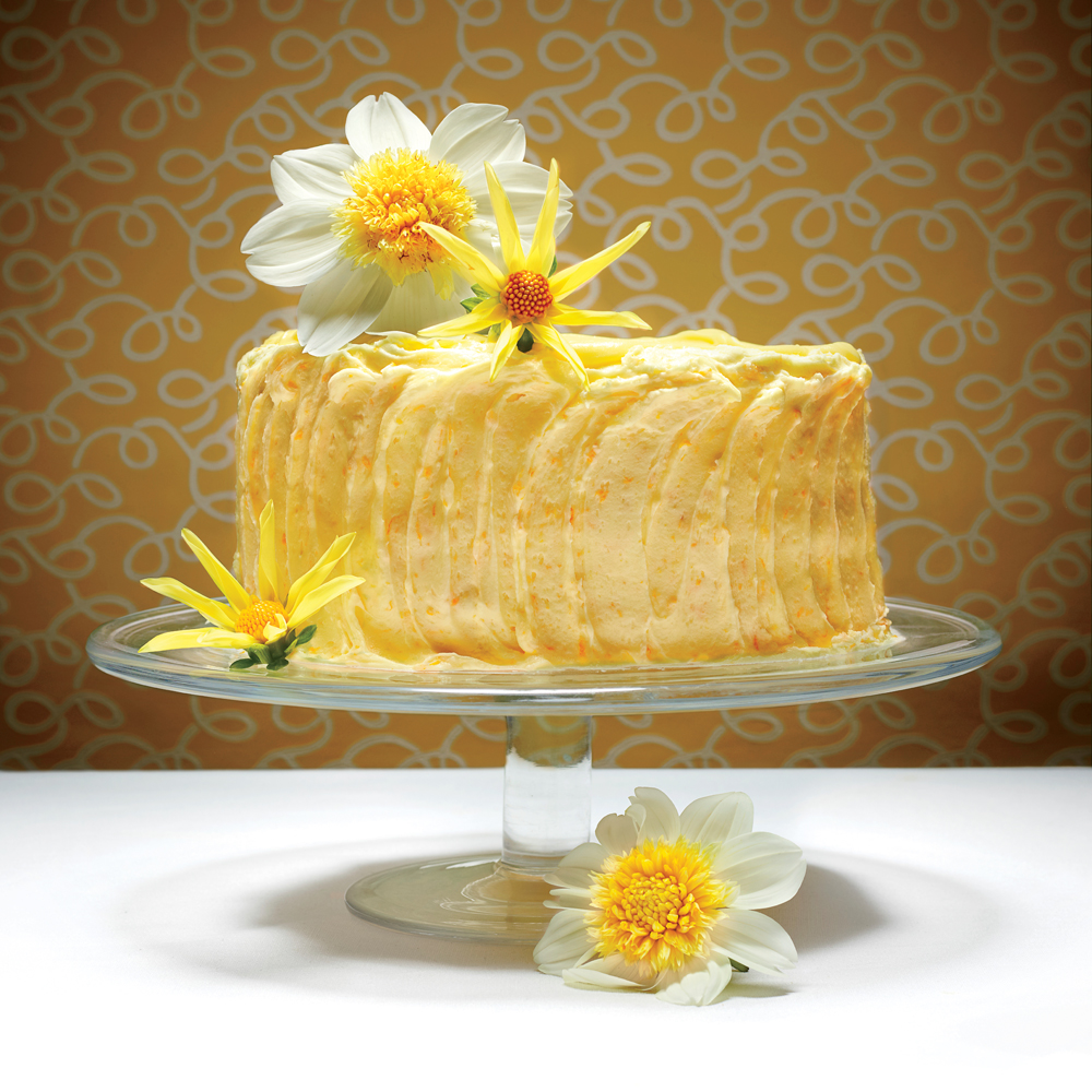 The Lemon Cheese Layer Cake Recipe Myrecipes