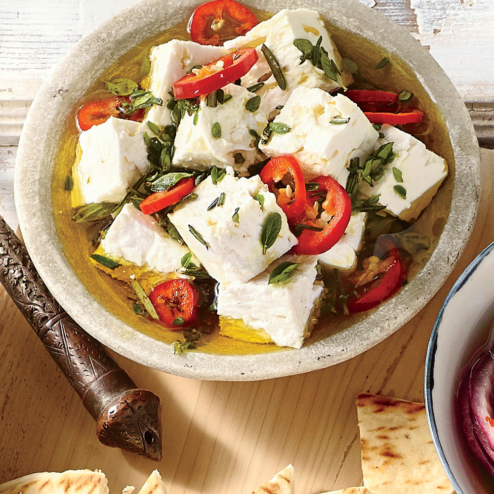 Marinated Feta Recipe Myrecipes
