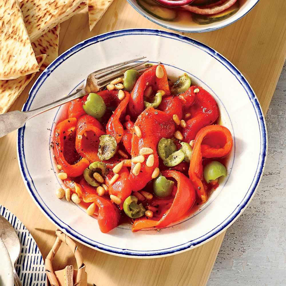 Red bell pepper salad recipes