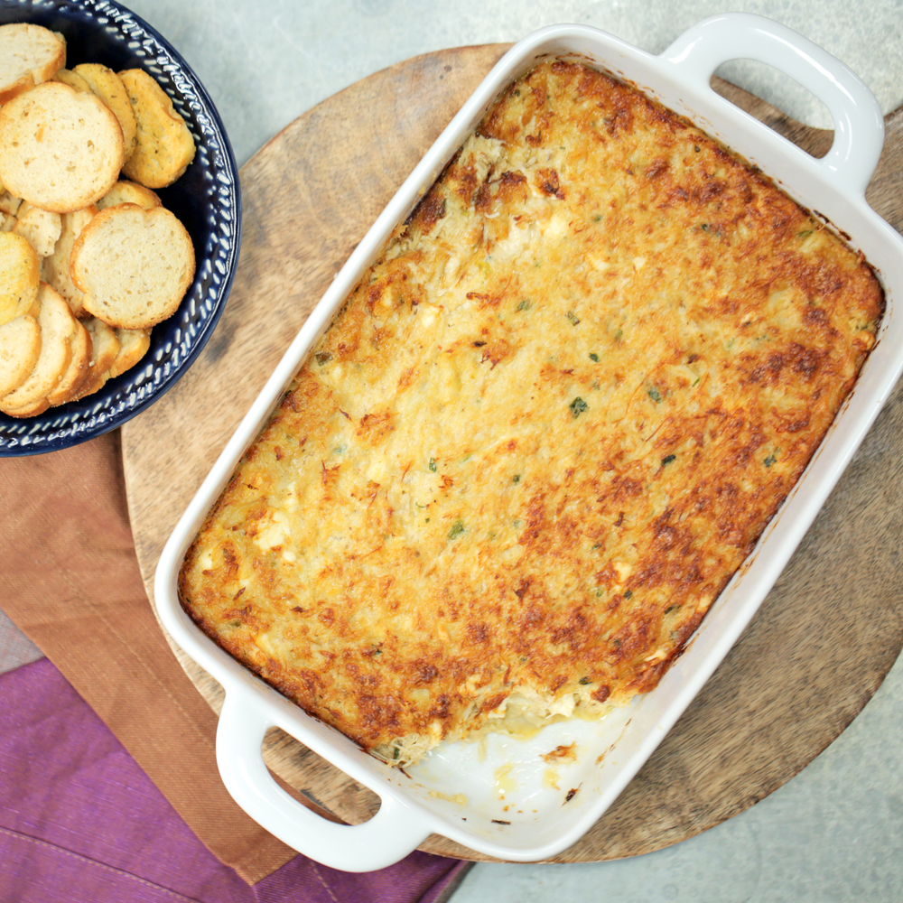 Louisiana Hot Crab Dip Recipe | MyRecipes