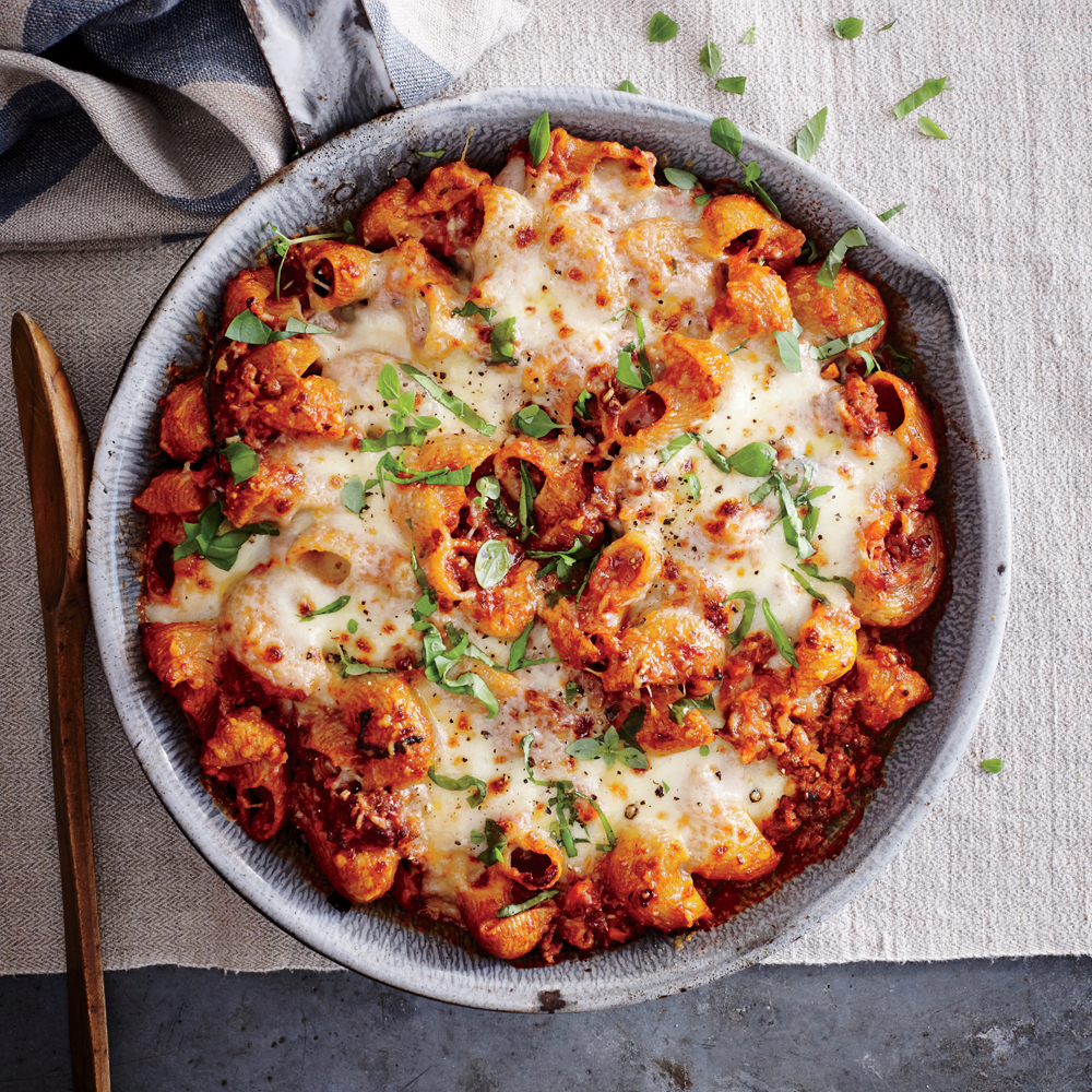 Ground Beef and Pasta Casserole