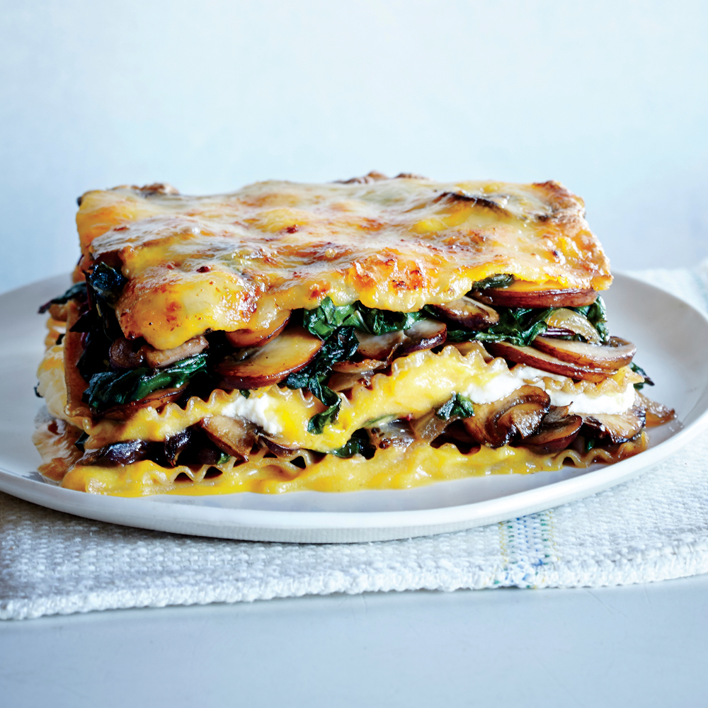 Vegetable Lasagna with Butternut Béchamel