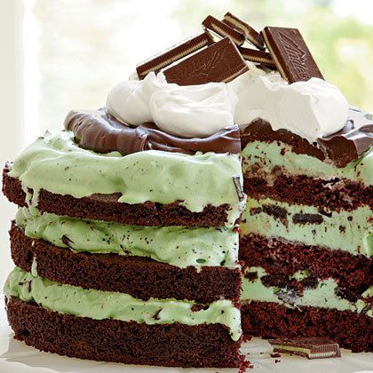Cake of the Week: Mint Chocolate Chip Ice-Cream Cake