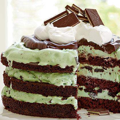 Cake of the Week: Mint Chocolate Chip Ice-Cream Cake