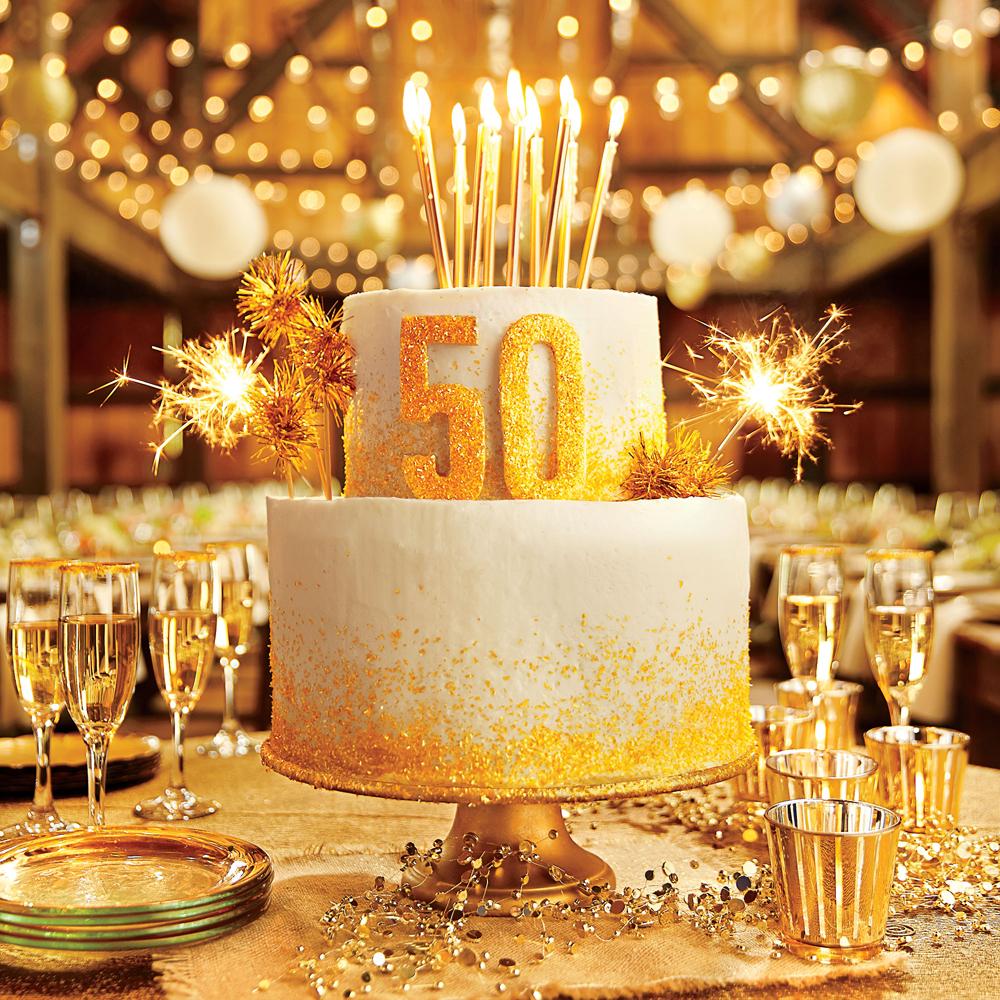 The 50th Anniversary Cake