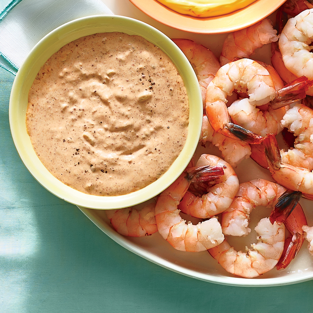 Chilled Shrimp with Smoky Rémoulade