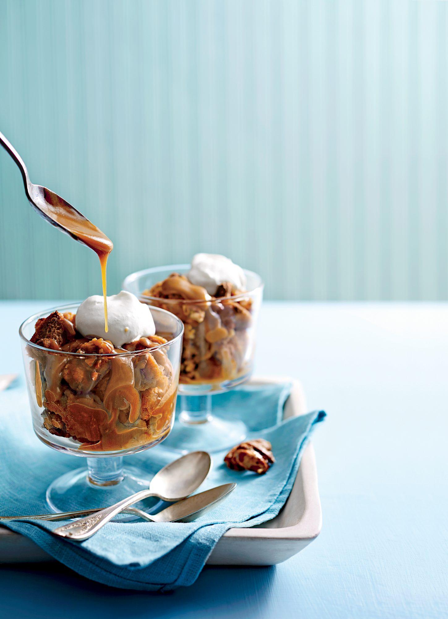 Praline Bread Pudding