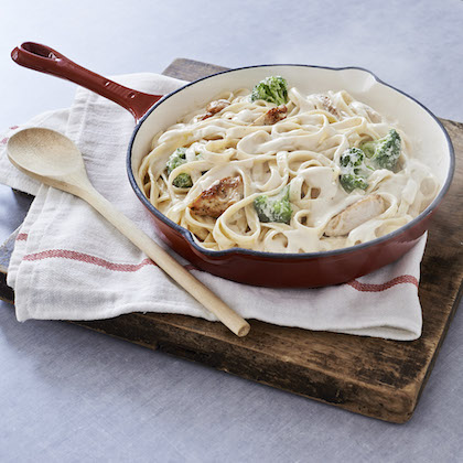 Chicken and Broccoli Alfredo with Fettuccine