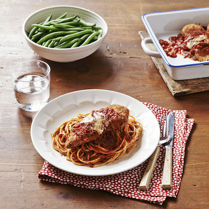 how to cook chicken parmesan in the oven