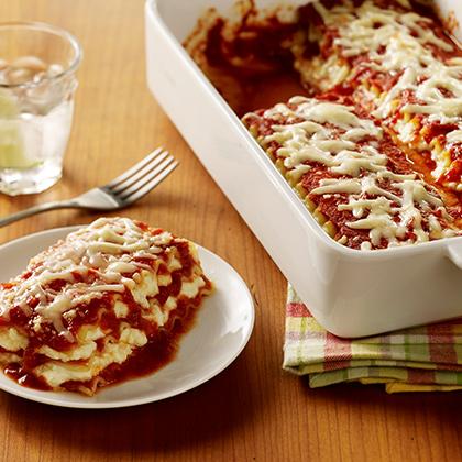 No-Boil Baked Lasagna