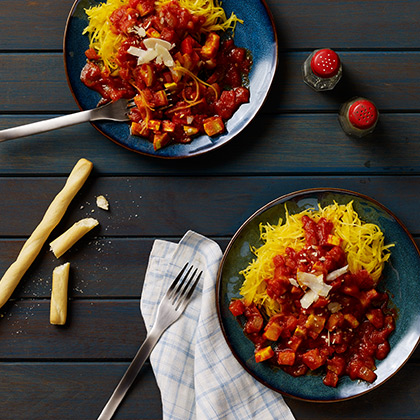 Spaghetti Squash with Vegetables