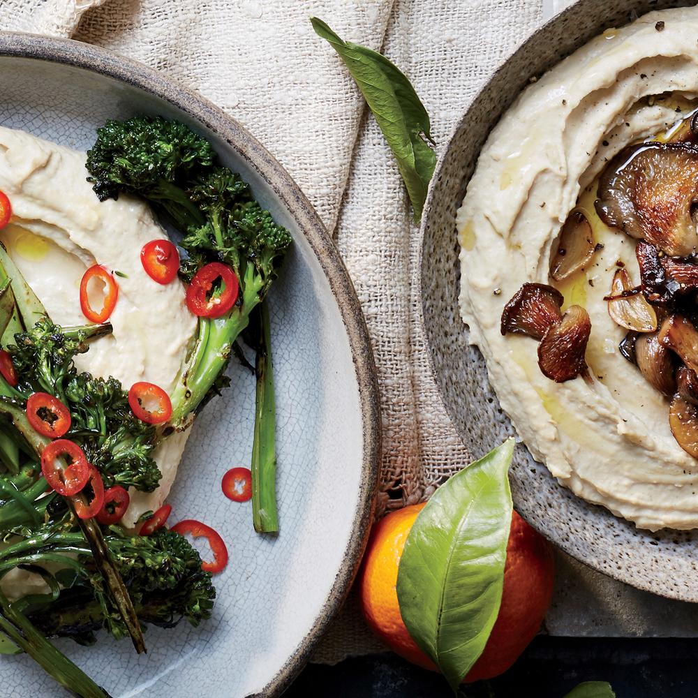 Israeli-Style Hummus Recipe | MyRecipes