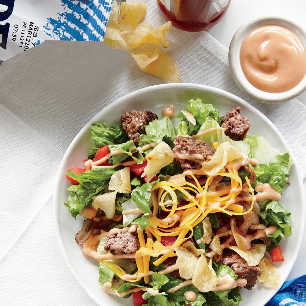 The Cheeseburger Salad