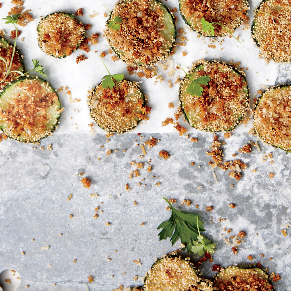 Crunchy Zucchini Chips