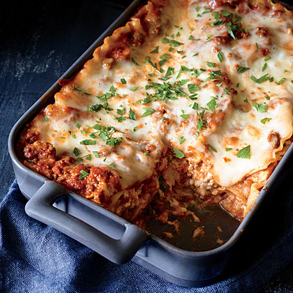 How to Make Classic Lasagna with Meat Sauce - Video  MyRecipes
