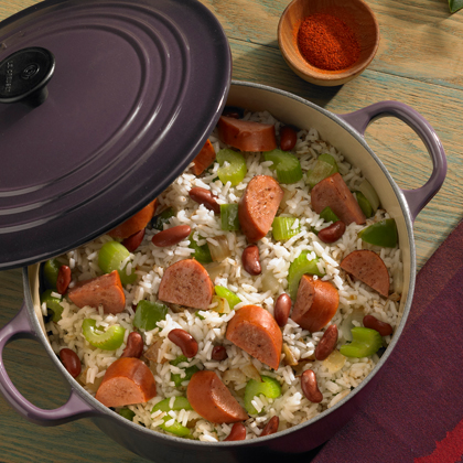 Fast and Easy Red Beans and Sausage