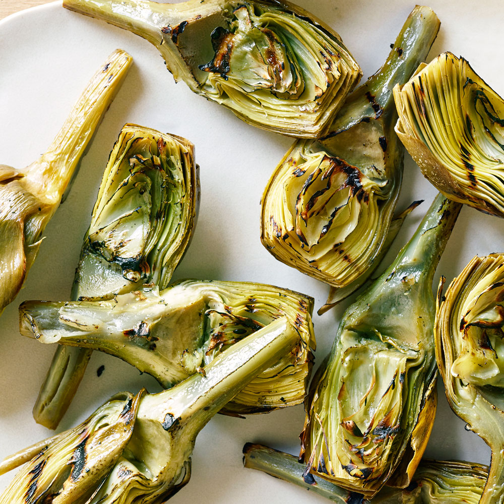 Classic Grilled Artichokes