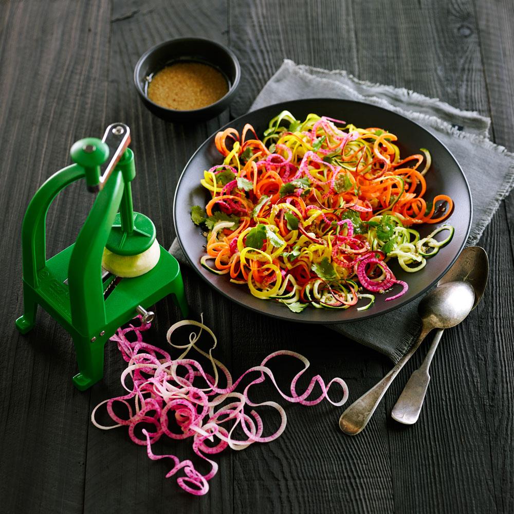 Sesame Zoodle Salad