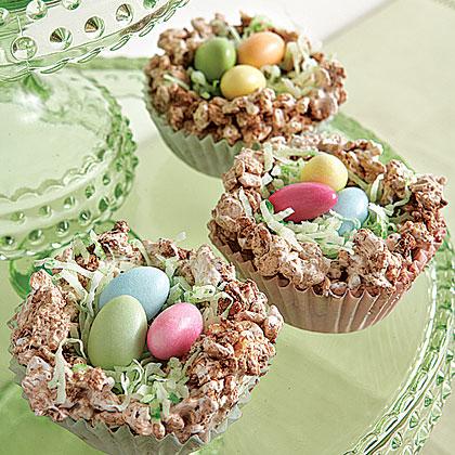 Crispy Easter Nests