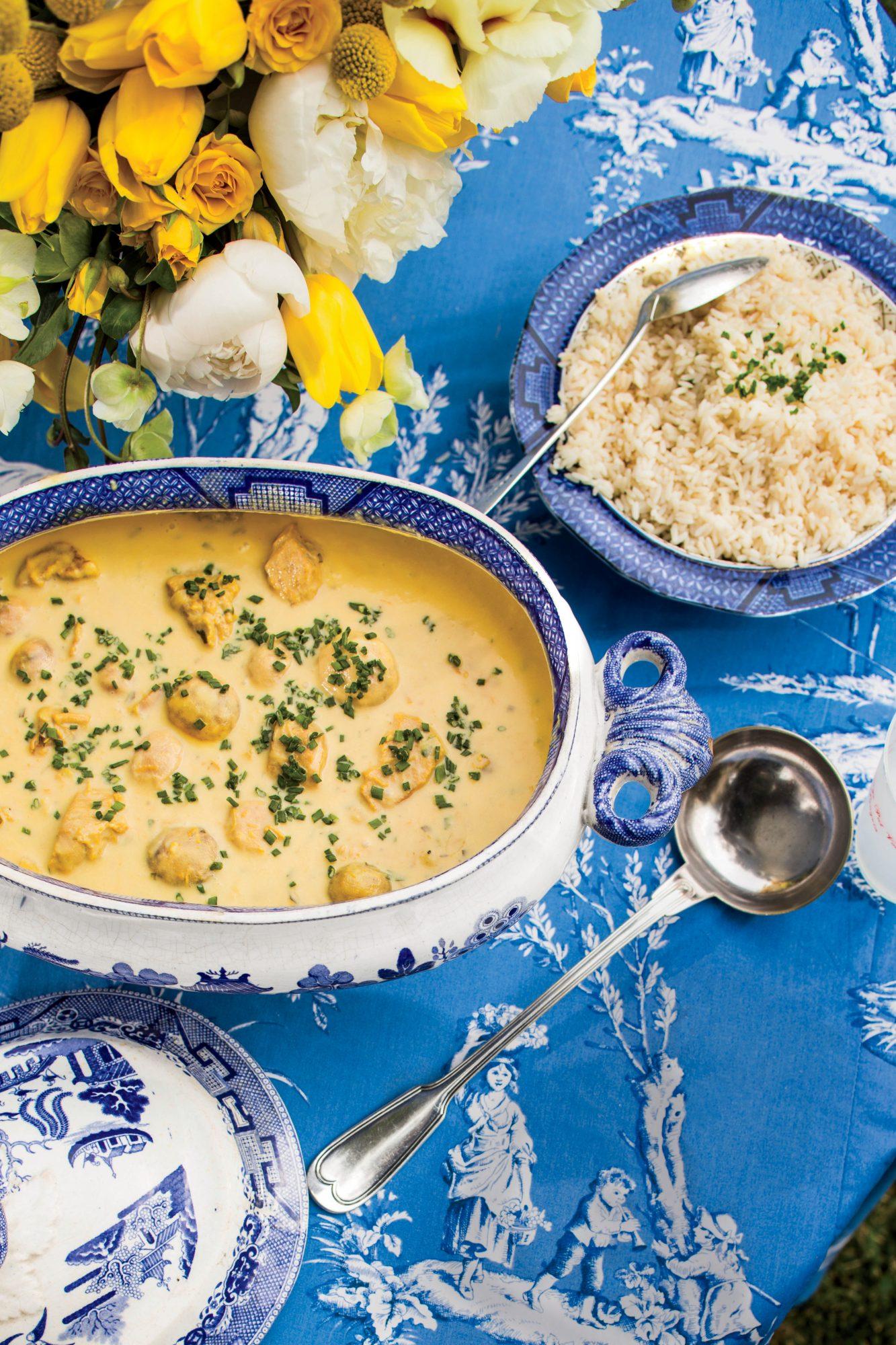 Saffron Veal Stew
