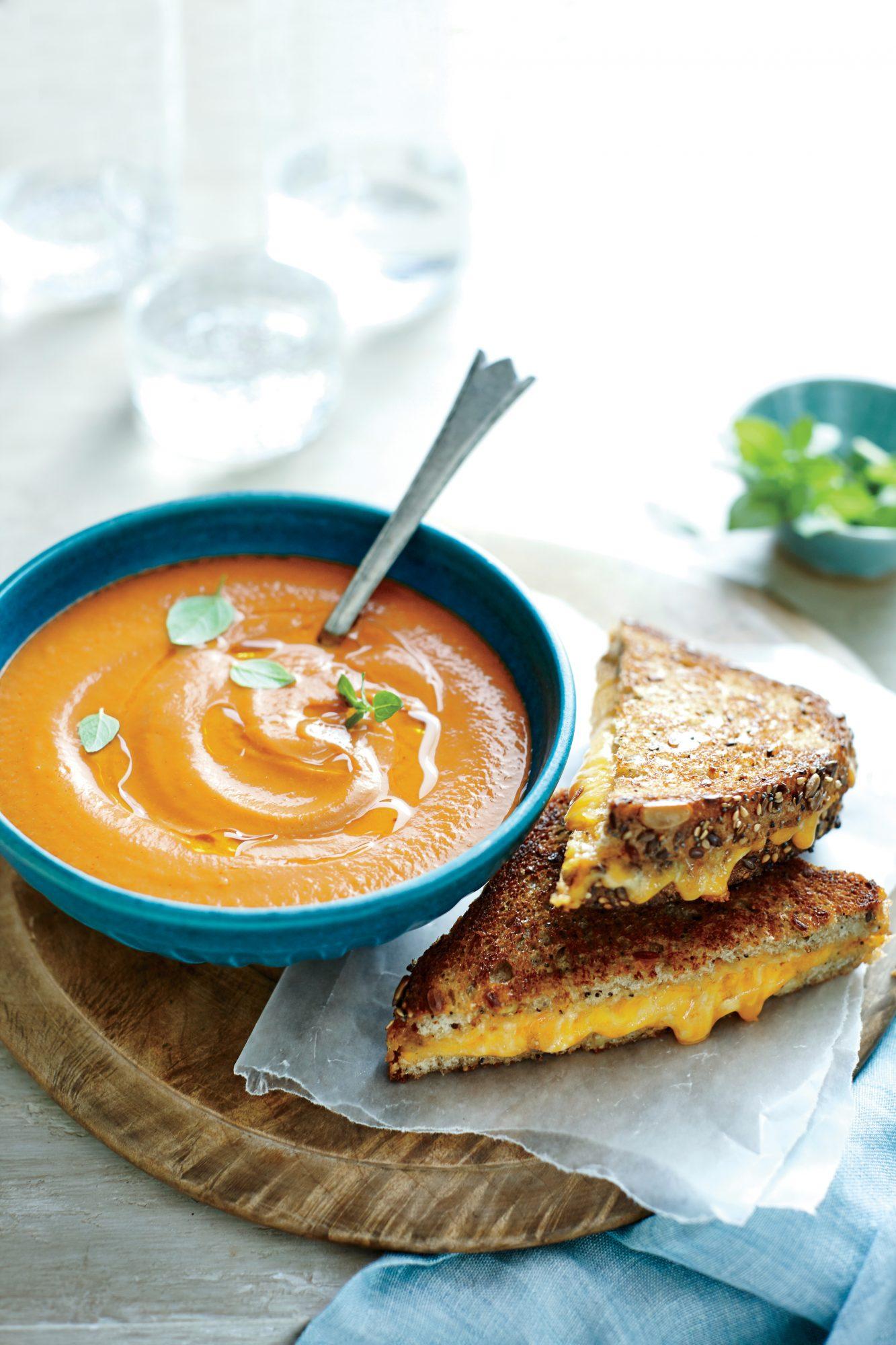 Creamy Roasted Tomato Soup