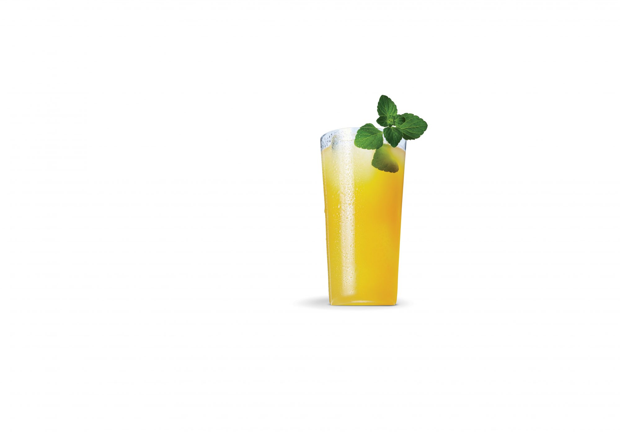 Cantaloupe Margarita with a Hint of Mint