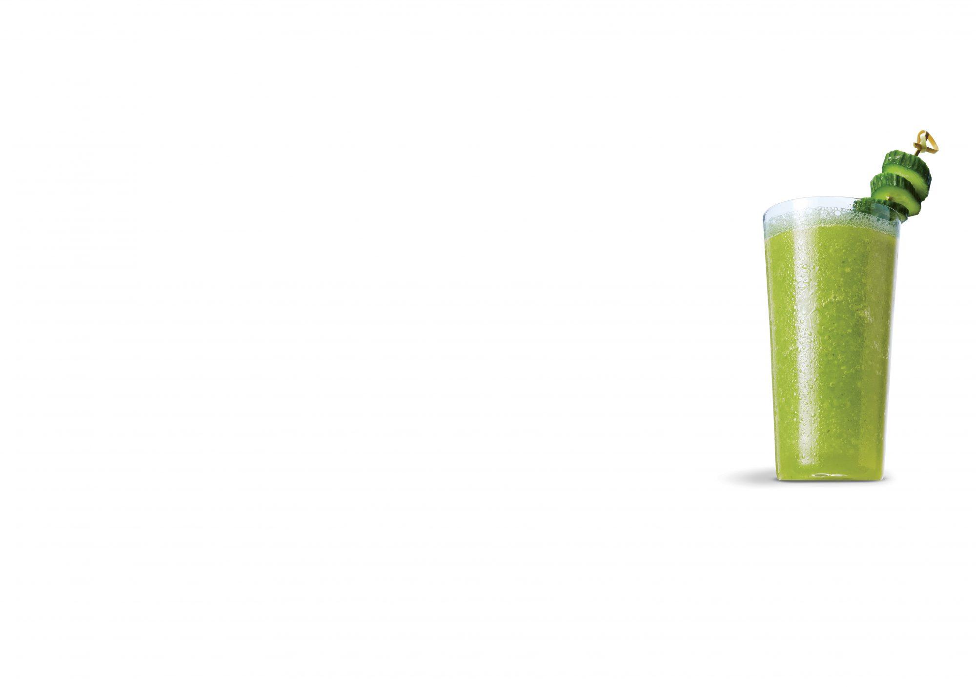 Cucumber Honey and Thyme Margarita Slush