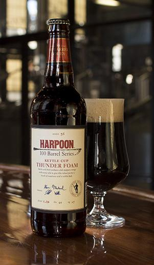 Harpoon Brewery Thunder Foam